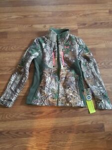Realtree Under Armour Women's Size Small Camo Hunting Jacket