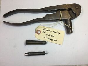 Vintage 1880 Winchester Reloading Tool 40-60 WCF. WDecapping Pin
