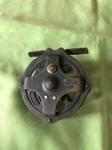 Vintage Brass Skeleton Hendryx Fly Fishing Reel