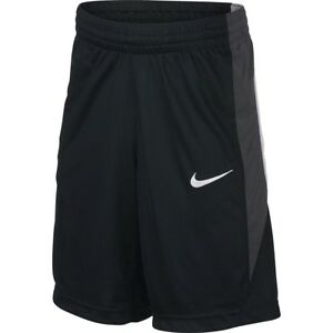 (New w Tags) Nike Youth Boy's DRY Basketball Shorts M DRI-FIT Technology Black