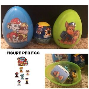 New Three Keepsake Paw Patrol Surprise Eggs With 3D Figure And Candy