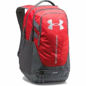 Under Armour UA Hustle 3.0 Backpack Red Graphite - (1294720 600)