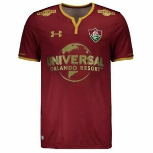 Fluminense Third w Sponsors Soccer Football Jersey Shirt 2017 2018 Under Armour