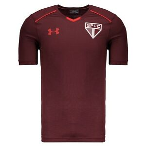Sao Paulo Training Soccer Football Jersey Shirt - 2017 Under Armour Brazil