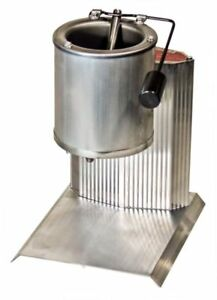 Electric Lead Melting Pot Metal Melter Furnace Casting Molds Spout 20 Pound
