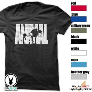 ANIMAL c965 Gym Clothing Fitness Workout T Shirt by Rockland Shirts $12.95