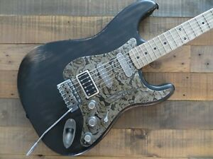 James Trussart SteelGuard O Matic Black on Steel Roses Relic!