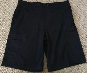 Callaway Golf Shorts Opti Dry Opti Shield Black Stretch Mens 34 NWT
