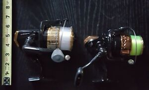 2 FISHING REELS TSUNAMI 10 LB. 220 YARDS AND OCEAN REEF 24 LB. 140 YARDS.