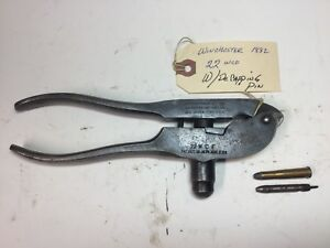1882 Winchester Reloading Tool .22 Wcf (WDe-capping Pin)