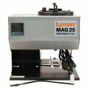Lyman Firearm Reloading 2800382 Mag 25 Digital Furnace (115V) - Bullet Molds