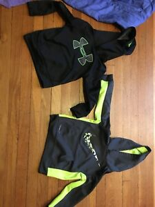 Lot Of 3Toddler Boys Hoodies-Nike & Under Armour