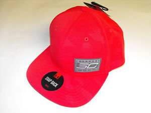 STEPHEN CURRY - SC30 - UNDER ARMOUR - MENS SNAPBACK HAT - ONE SIZE - RED