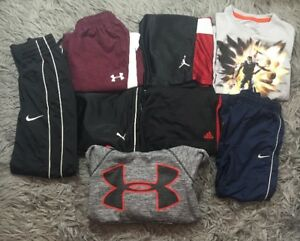 Boys Lot Athletic Wear Nike Under Armour Adidas Sz S 6 8 Pieces 4 Shorts Hoodie