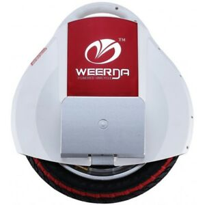 Weerda Self balance electric unicycle with training wheels and learning strap