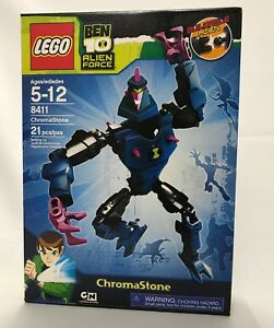 LEGO 8411 Ben 10 Alien Force Chromastone See Detail