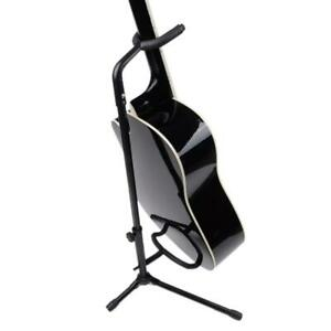 Glarry Music Folding Stand Padd for Acoustic Electric Bass Guitar Studio Hanger