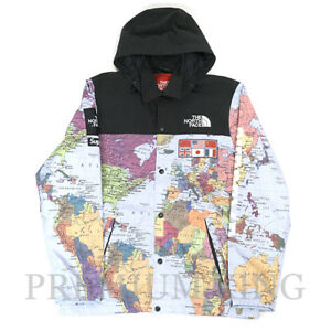 14SS Supreme × The North Face Expedition Coaches Jacket Map Multi M size