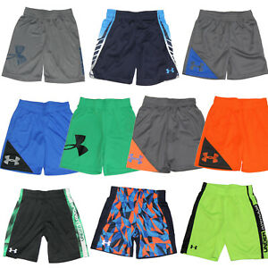 Under Armour Boys Shorts - Size 3T 4 5 6 7 - New w Tags