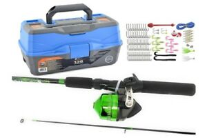 Ready 2 Fish Tackle Box Fishing Lure Accessories Kit Tool Full Loaded Lure Parts