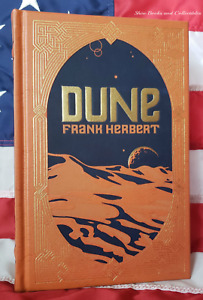 NEW SEALED DUNE by Frank Herbert Bonded Leather Collectible Edition Hardcover