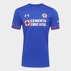 Cruz Azul Home Soccer Football Jersey Shirt - 2017 Under Armour Mexico