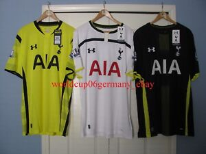 Under Armour Tottenham shortsleeve 2015 soccer jersey shirt XL bnwt set Hotspurs