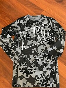 BOY'S NIKE PRO COMBAT COMPRESSION SHIRT DRY-FIT XL NWT