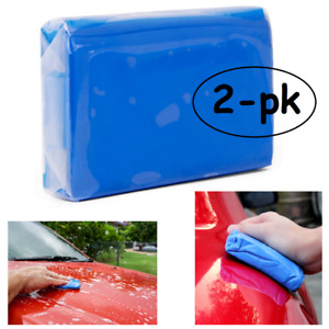 2x Magic Car Clean Clay Bar Detailing Wash Cleaner Mud Remove 2-Pack