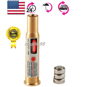 CAL 30-30 WIN Cartridge Red Laser Bore Sighter Boresighter Bullet Shaped Brass