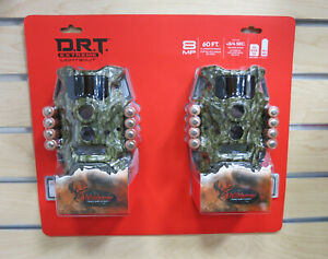 (2) Wildgame Innovations DRT Extreme Lightsout Trail Cam Scouting Stealth Camera