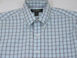 Brooks Brothers mens Country Club Framed Check BD gusset Sport Shirt L Mint $148