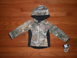 NWT Under Armour Toddler Girls hoodie  Size 2T