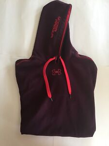 Under Armour Mens Maroon Hoodie Size XL Pullover