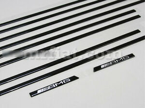 Mercedes G-Wagon Genuine AMG W463 G500 G550 G63 G65 Black Trim Molding Kit New