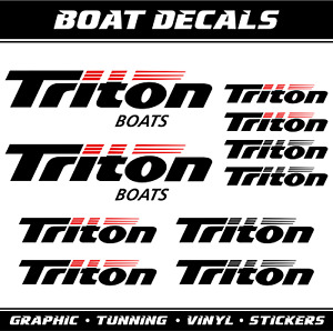 Triton Boat Decal For Sale | Lures