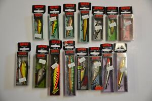 15 NEW RAPALA LOT LURES NEW SALE floating husky x-rap jointed trout fishing