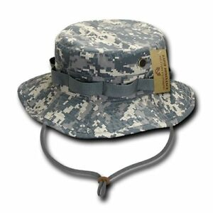 Military Spec Ripstop Boonie Hunting Fishing Outdoor Hiking Bucket Jungle Hat