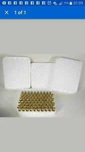Lot of 10 Ammunition Case Reloading Trays (100 cases each) 45 ACP 40 S