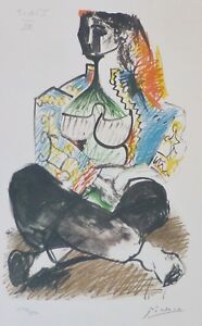 PABLO PICASSO CALIFORNIE VII SIGNED HAND NUMBERED LITHOGRAPH ATELIER CALIFORNIA $198.00