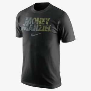 Nike Johnny Football Money Manziel Black Men T-Shirt Men's Dri-Fit Cotton CFL