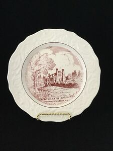 Adam Antique By Steubenville Plate Of Wakefield Washington's Birthplace #3237 $29.99