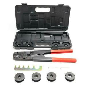 Manual Pex Crimper Kit Copper Ring Crimping Plumbing Tool 38