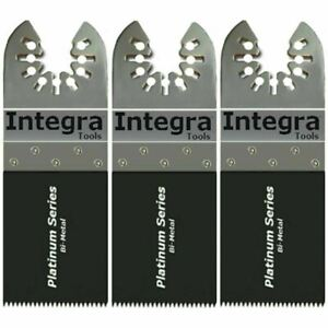 3 Wood Uni-Fit Oscillating Tool Blades for Chicago / Porter Cable , Mastercraft+