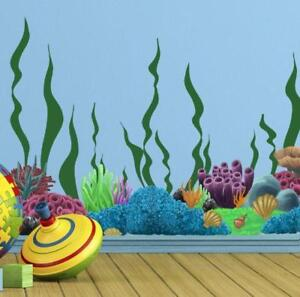 Coral Under Sea Wall Decals Kids Wall Decals $24.99