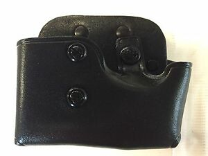Galco MCP Cop Mag Cuff Carrier in Black For Double stack.4510mm Mags #MCP28B