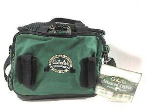 Cabelas Advanced Anglers Pro Series Tackle Bag Outdoor Gear Green Fishing wTags