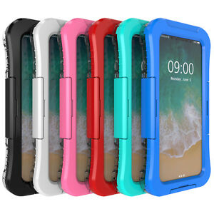 Hard Armor Under Water proof Beach Swimming PVC Case For Apple iPhone X XS 8 76