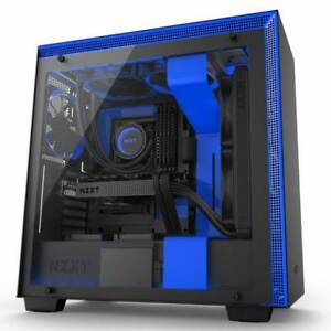 NZXT H700i No Power Supply ATX Mid Tower w Lighting and Fan Control