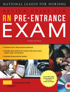 RN Pre Entrance Exam by National League for Nursing Staff 2008 Paperback Revi
